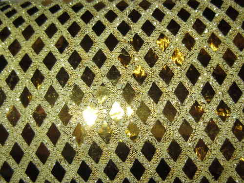 Diamond  Sequin - Gold