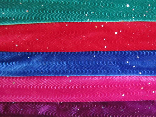 Stretch Sparkle Velvet  SAMPLES