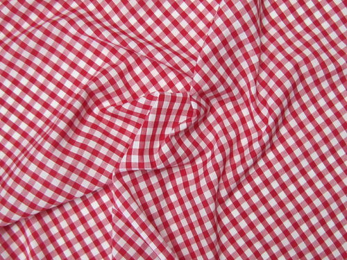 "Gingham 1/4"" Red"