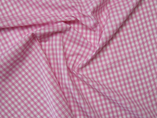 "Gingham 1/4"" Pink"
