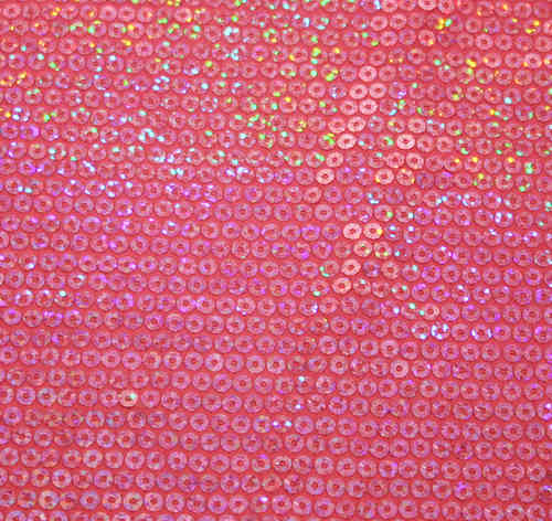 Stretch Hologram Sequin Pink Slight 2nds