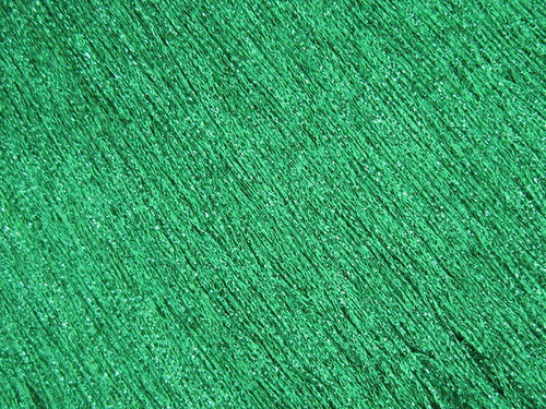 Stretch Tactel Fringe Emerald Metallic