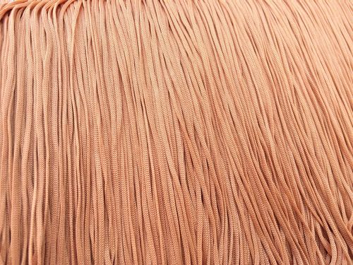 Stretch Tactel Fringe  Nude