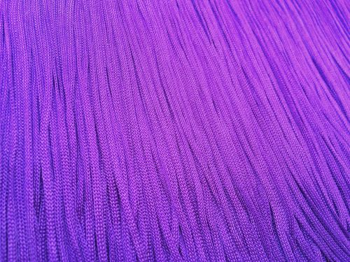 Stretch Tactel Fringe Purple