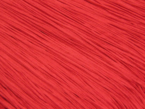 Stretch Tactel Fringe Red