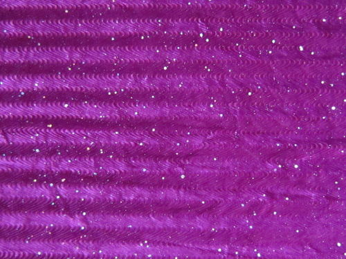 Stretch Sparkle Velvet Magenta