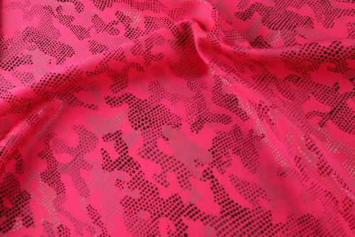 Matrix Lycra - Hot Pink