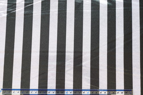SHINE Foil Stripe Black & White