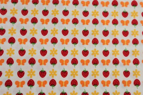 Gingham Girls Strawberry by Penny Rose